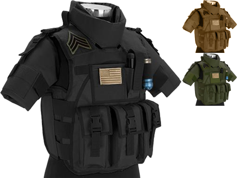 Matrix S.D.E.U. Ultra Light Weight Airsoft Tactical Vest (Color: Black)
