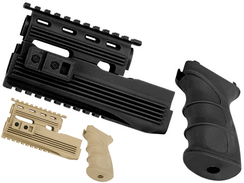 Matrix Desert Storm AK47 Railed Handguard / AK47 Grip Set