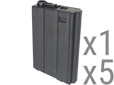 Matrix Metal 190rd VN-Style Hi-Cap Magazine for M4/M16 Series Airsoft AEG Rifles