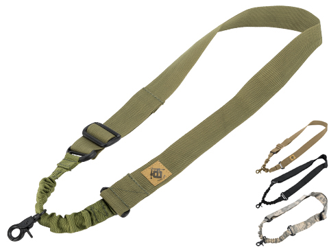 Matrix Tactical Gear Single Point Bungee Rifle Sling (Color: Black)