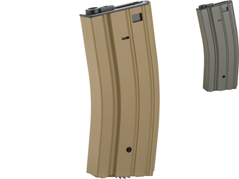 CYMA Metal 300rd Hi-Cap Magazine for M4/M16 Series Airsoft AEG Rifles (Color: Dark Earth)