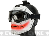 "Matrix ""Insane Clown"" Custom Fiberglass Mask and Goggle Set"