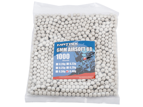 0.40g Sniper MAX Grade 6mm Airsoft BB by Matrix