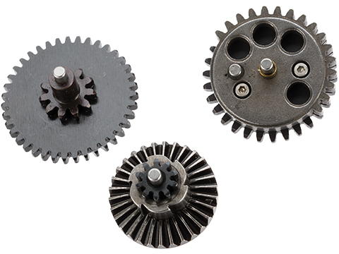 Matrix CNC Machined Steel Super High Torque Airsoft Gear Set (Ratio: 32:1)