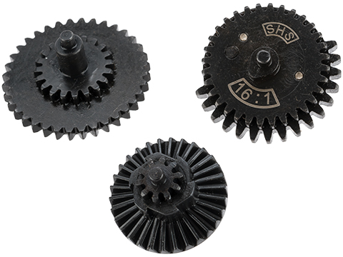 Matrix CNC Machined Steel High Speed Airsoft Gear Set (Ratio: 16:1)
