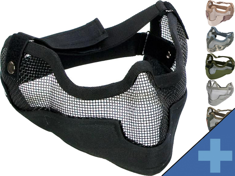 Matrix Iron Face Carbon Steel Striker Gen2 Metal Mesh Lower Half Mask