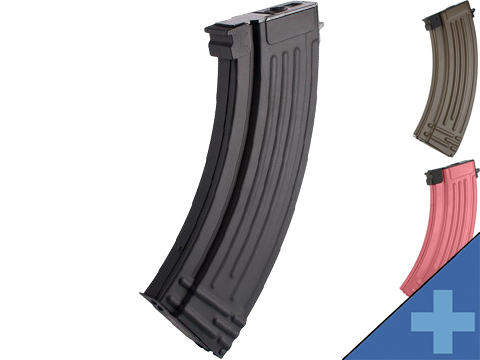 Matrix Flash Mag Hi-Cap Magazine for AK Series Airsoft AEG (Color: Black / 500rd)