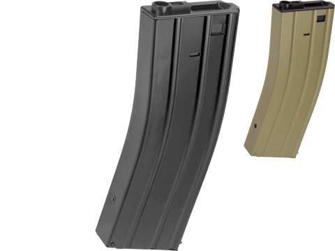 Matrix Full Metal 400 round Flash Mag for M4 M16 Series Airsoft AEG (Color: Black)