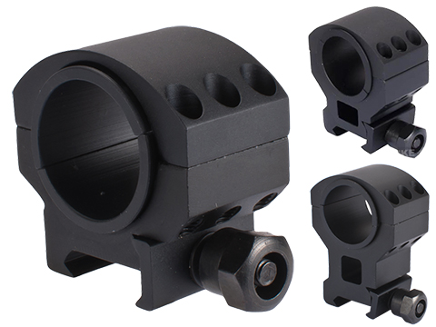 Matrix Rambo Weaver QD Scope Mounts (Model: High Profile / Single)