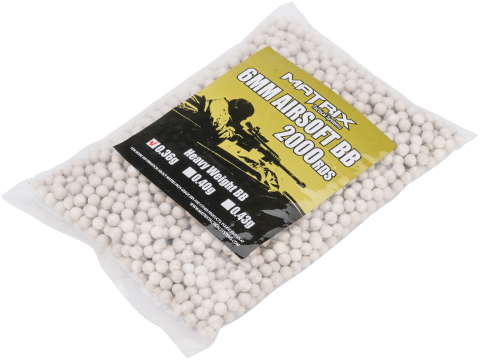 Matrix Match Grade 6mm High Performance BBs (Weight: .36g / 2000 Rounds)