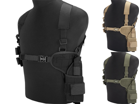 Matrix All In One Handgun Shoulder Holster (Color: Black)