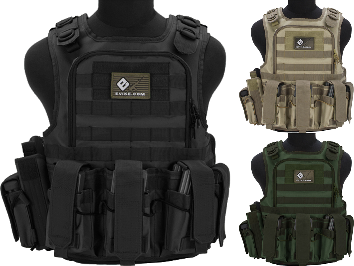 Matrix Tactical Systems Zip-Cord Tactical Field Vest w/ Duo Straps (Color: Black)