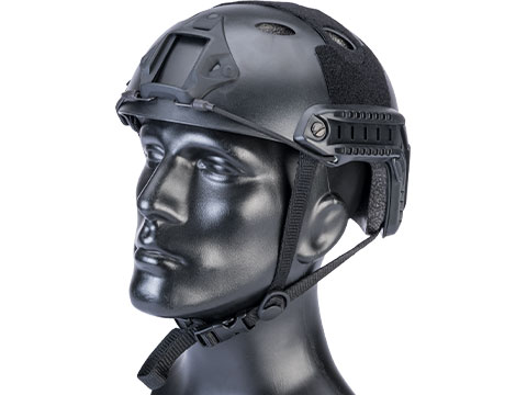 Matrix Basic PJ Type Tactical Airsoft Bump Helmet (Color: Black)