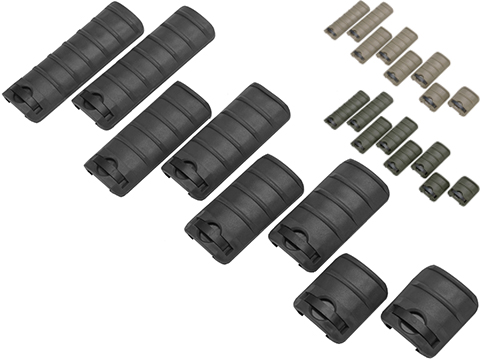 Matrix Airsoft Rail Cover Set (Color: Black)