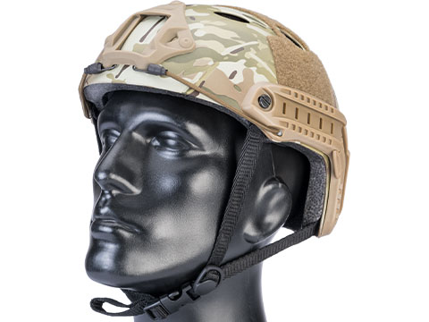 Matrix Basic PJ Type Tactical Airsoft Bump Helmet (Color: Camo)
