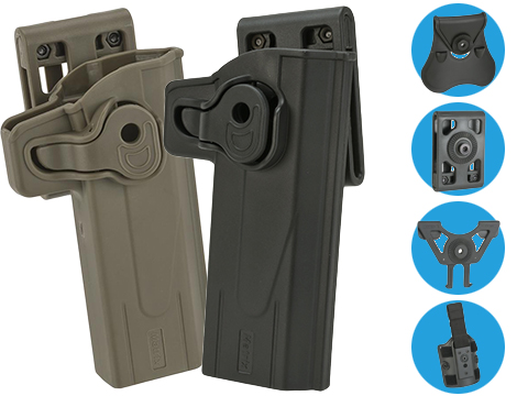 Matrix Hardshell Adjustable Holster for STI Hi-Capa 2011 Series Pistols