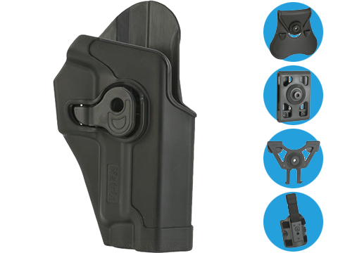 Matrix Hardshell Adjustable Holster for Sig P226 Series Pistols