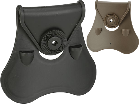 Matrix Modular Paddle Attachment for Matrix Modular Holster Series (Color: Black)