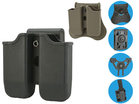 Matrix Hardshell Adjustable Magazine Holster for Glock Series Pistol Mags