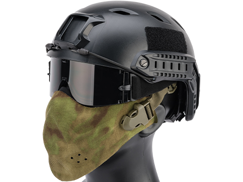 Matrix High Speed Lightweight Half Face Mask (Color: Arid Foliage)