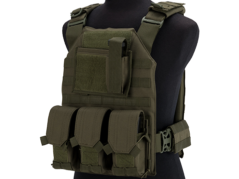 Matrix MTS Commando Elite Plate Carrier Vest (Color: OD Green)