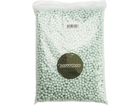 Matrix Premium Match Grade 8mm Airsoft BBs (Weight: .45g / 5000rd / Light Green)