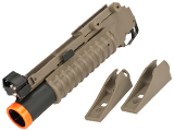 Matrix 40mm M203 Grenade Launcher for M4 M16 Series Airsoft Rifles (Model: Short Type / Desert)