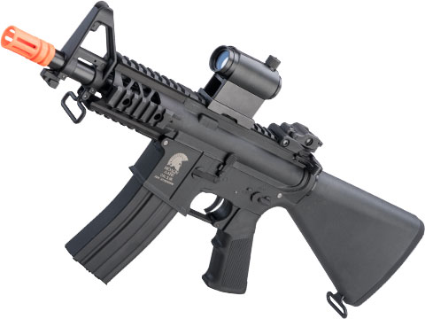 Matrix / S&T Sportsline M4 RIS Airsoft AEG Rifle w/ G3 Micro-Switch Gearbox (Model: Black Stubby 5 Fixed Stock)