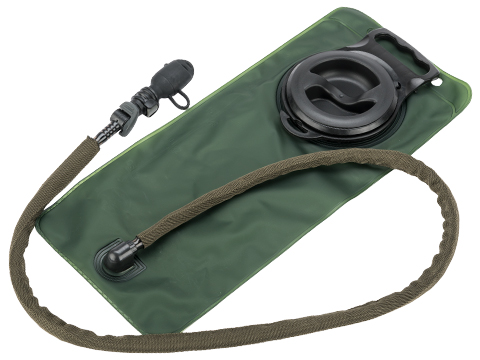Matrix 2.5L Hydration Bladder with Insulated Hose and Detachable Mouthpiece (Color: OD Tube)