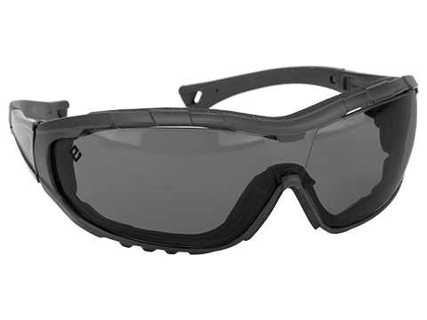 Evike.com Axis Tactical Goggles by Valken (Color: Black Frame / Smoke Lens)