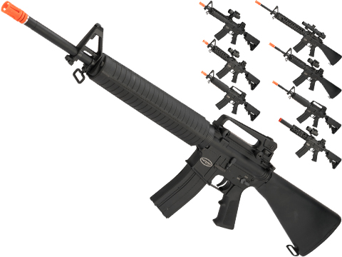 Matrix Full Metal Gas Blowback Airsoft Rifle with Western Arms Gas System