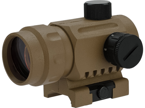 Matrix High Speed 1X20 Battle Reflex Red Dot Optic (Color: Tan)