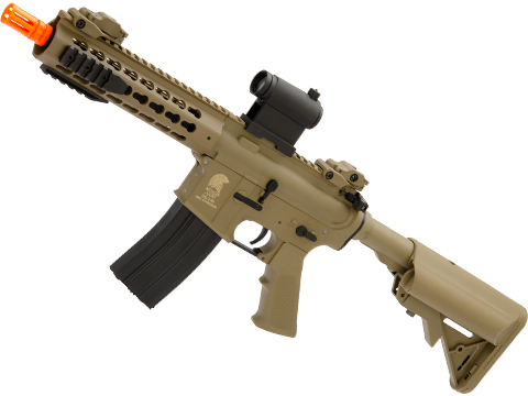 Matrix / S&T Sportsline M4 RIS Airsoft AEG Rifle w/ G2 Micro-Switch Gearbox (Model: Dark Earth Keymod 8)