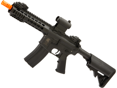Matrix / S&T Sportsline M4 RIS Airsoft AEG Rifle w/ G3 Micro-Switch Gearbox (Model: Black Keymod 8)