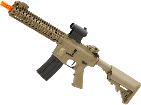 Matrix / S&T Sportsline M4 RIS Airsoft AEG Rifle w/ G2 Micro-Switch Gearbox (Model: Dark Earth RIS 9)