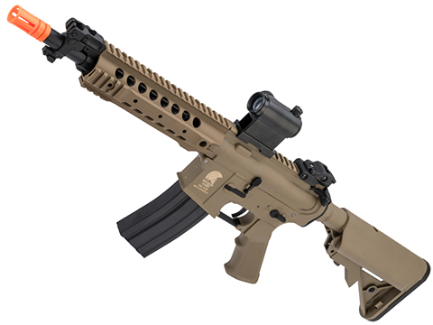 Matrix Sportsline M4 RIS Airsoft AEG Rifle w/ G2 Micro-Switch Gearbox (Model: Dark Earth URX 8)