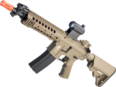 Matrix / S&T Sportsline M4 RIS Airsoft AEG Rifle w/ G3 Micro-Switch Gearbox (Model: Dark Earth URX 8)