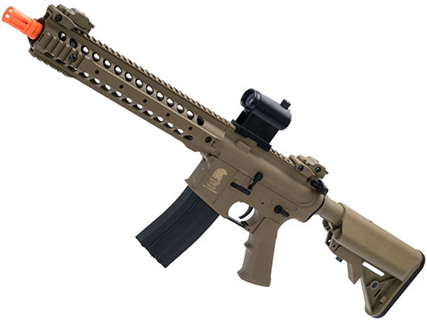 Matrix / S&T Sportsline M4 RIS Airsoft AEG Rifle w/ G3 Micro-Switch Gearbox (Model: Dark Earth URX Carbine 12)