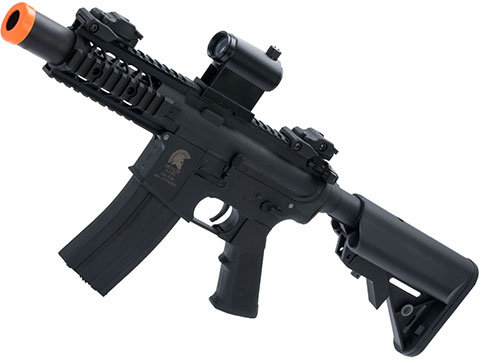 Matrix / S&T Sportsline M4 RIS Airsoft AEG Rifle w/ G3 Micro-Switch Gearbox (Model: Black Stubby 5)