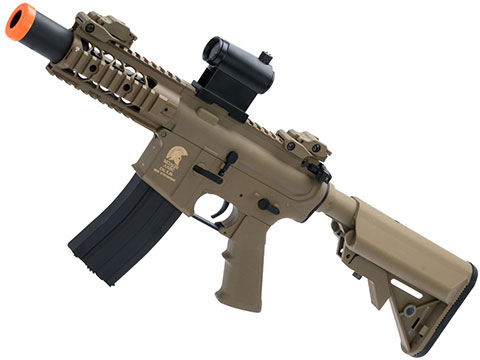 Matrix / S&T Sportsline M4 RIS Airsoft AEG Rifle w/ G2 Micro-Switch Gearbox (Model: Dark Earth Stubby 5)