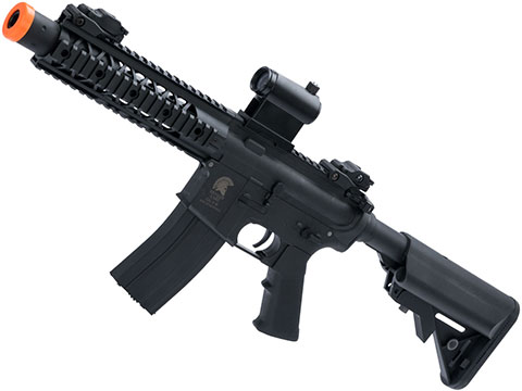 Matrix / S&T Sportsline M4 RIS Airsoft AEG Rifle w/ G3 Micro-Switch Gearbox (Model: Black M4 RIS 8 Stubby)