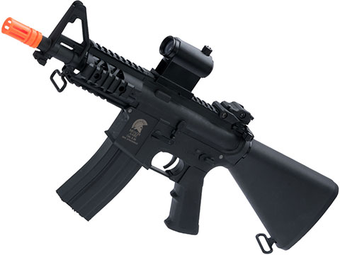 Matrix Sportsline M4 RIS Airsoft AEG Rifle w/ G2 Micro-Switch Gearbox (Model: 5 Stubby Fixed Stock / Black)
