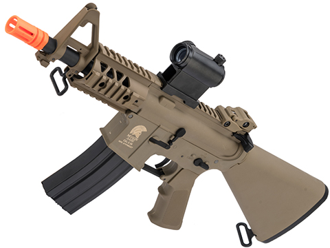 Matrix / S&T Sportsline M4 RIS Airsoft AEG Rifle w/ G2 Micro-Switch Gearbox (Model: Dark Earth Stubby 5 Fixed Stock)