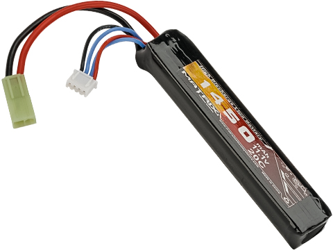 Matrix High Performance 11.1V Stick Type Airsoft LiPo Battery (Configuration: 1450mAh / 20C / Small Tamiya)
