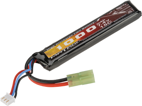 Matrix 7.4V 1000mAh 15C Stick Type LiPo Battery (Connector: Long Wire Small Tamiya Connector)
