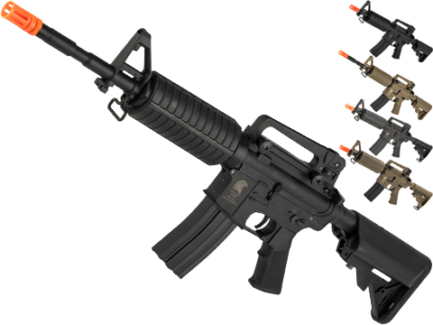 Matrix Sportsline M4 Airsoft AEG Rifle w/ G2 Micro-Switch Gearbox (Model: Black M4A1 / 350 FPS)
