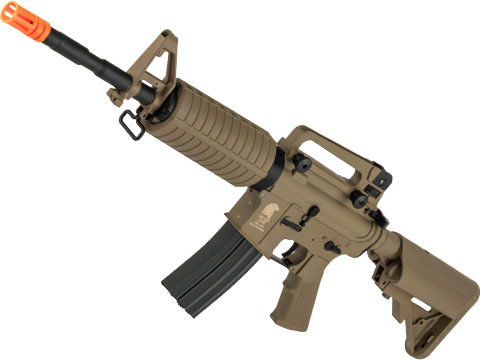 Matrix / S&T Sportsline M4 Airsoft AEG Rifle w/ G3 Micro-Switch Gearbox (Model: Dark Earth M4A1 / 350 FPS)