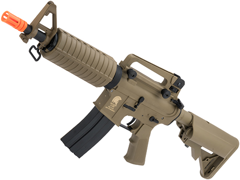 Matrix / S&T Sportsline M4 Airsoft AEG Rifle w/ G3 Micro-Switch Gearbox (Model: Dark Earth M4 CQB / 350 FPS)