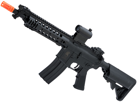 Matrix Sportsline M4 RIS Airsoft AEG Rifle w/ G2 Micro-Switch Gearbox (Model: Black URX 8 / 350 FPS)