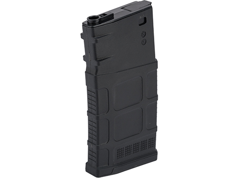 Avengers Polymer Magazine for SR-25 Series Airsoft AEG Rifles (Color: Black / 470rd Hi-Cap)